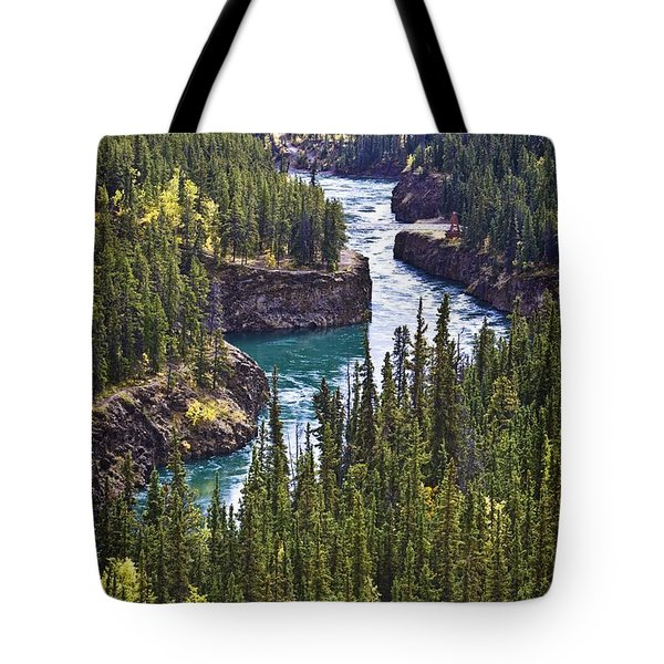 Yukon Territory, Canada Tote Bag by Richard Wear