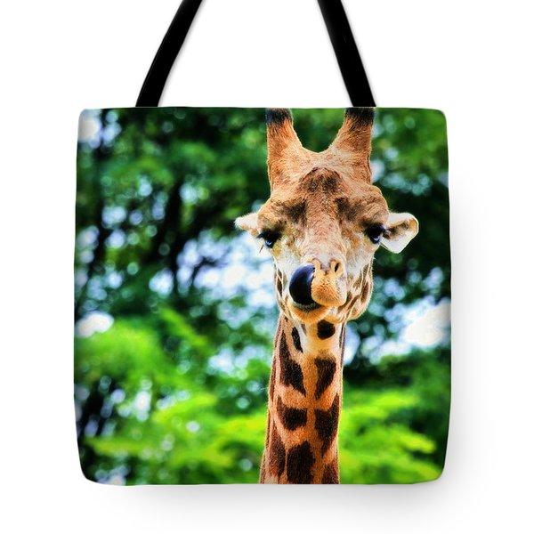 Yum Sllllllurrrp Tote Bag by Angela Rath