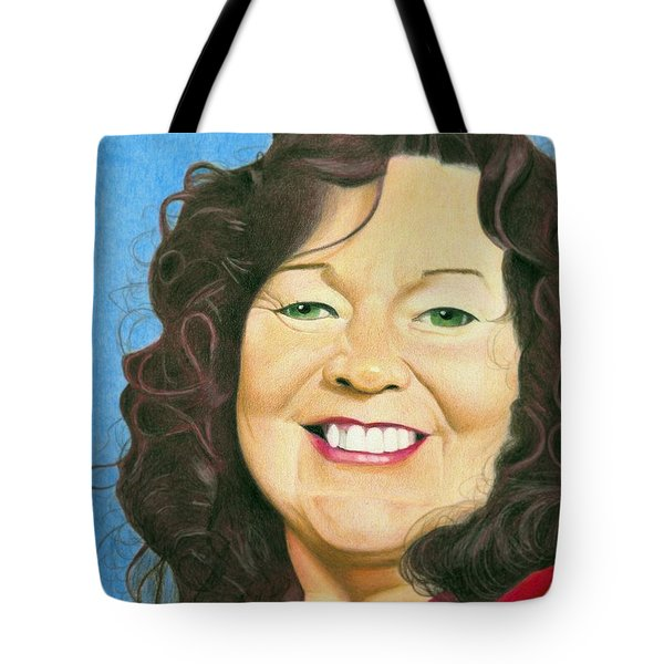 Yvonne Aleck Portrait Tote Bag by Ana Tirolese