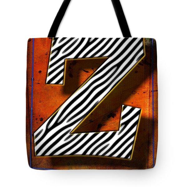Z Tote Bag by Mauro Celotti