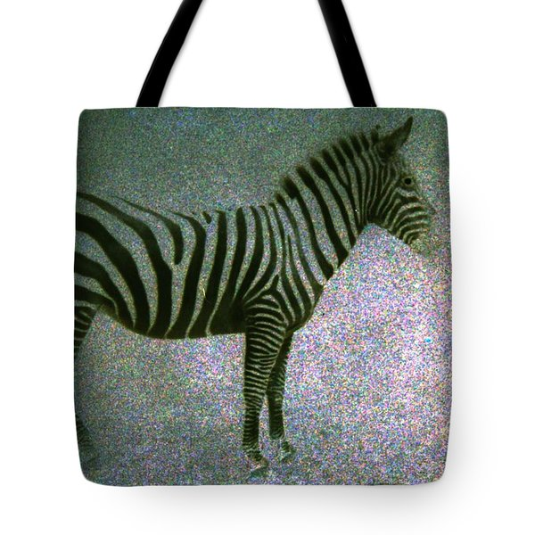 Tote Bag featuring the photograph Zebra by Kelly Hazel