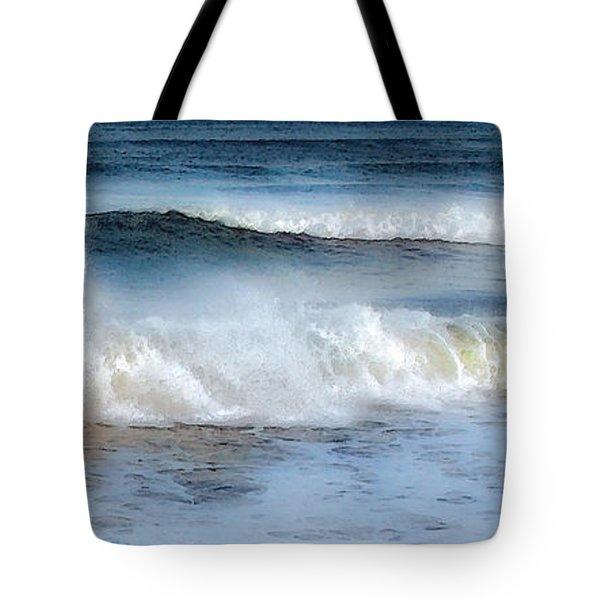 Zen Wave Tote Bag
