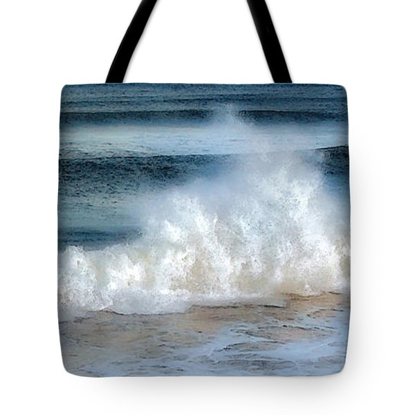 Zen Wave Tote Bag