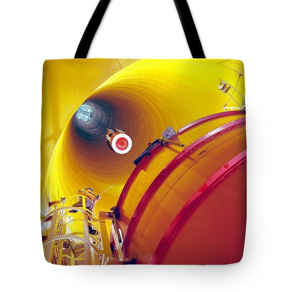 Zero Gravity Facility Tote Bag by Nasa