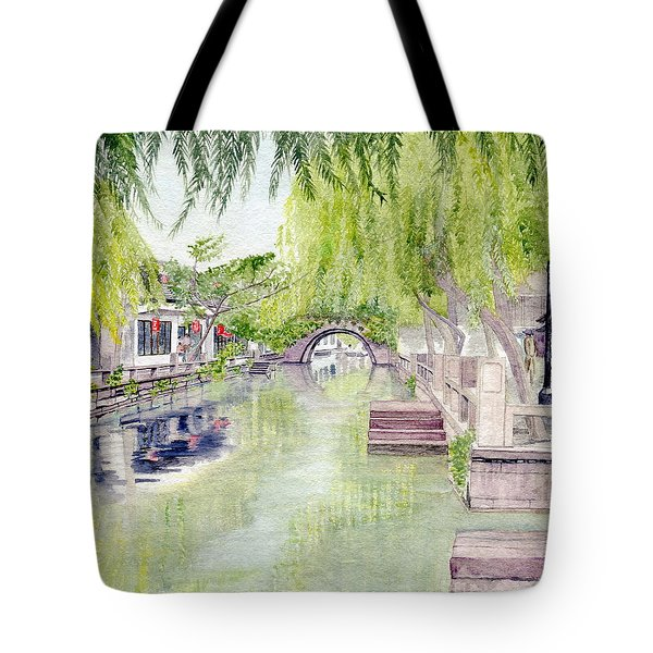 Zhou Zhuang Watertown Suchou China 2006 Tote Bag