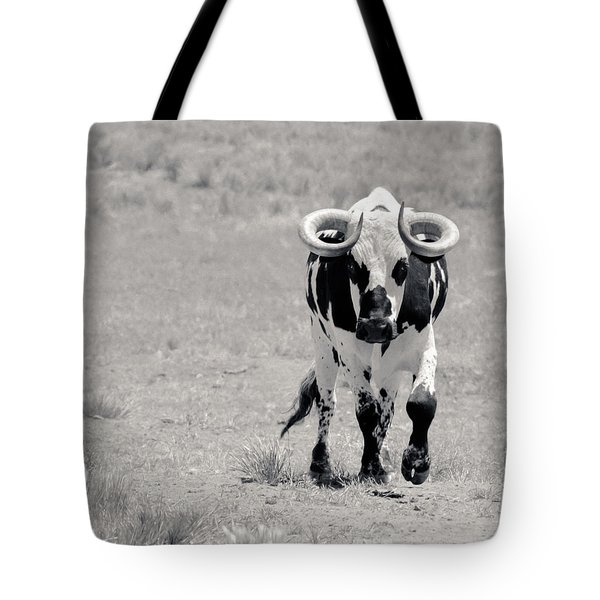 Zion Bull II Tote Bag by Julie Niemela