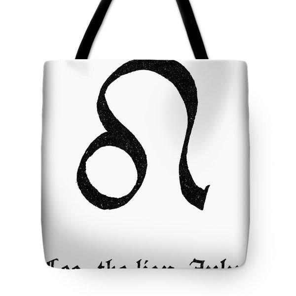 Zodiac: Leo Tote Bag by Granger