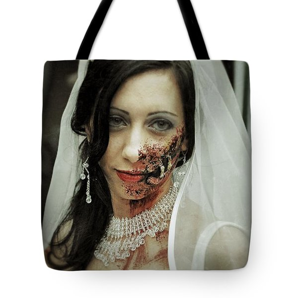 Zombie Bride  Tote Bag