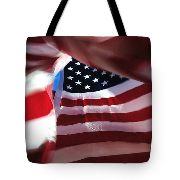 Tote Bag featuring the photograph . . . She's Still There by Steven Milner