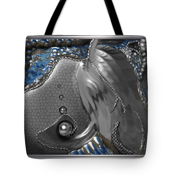 ' Fish Out Of Water ' Tote Bag