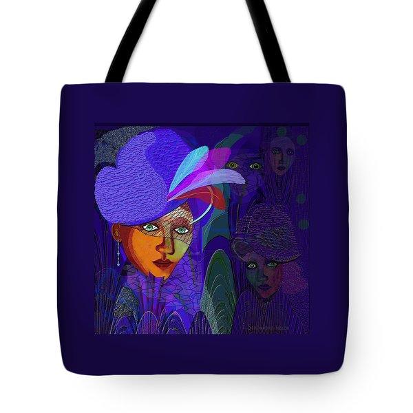 048 - Electric Blue ...  Tote Bag