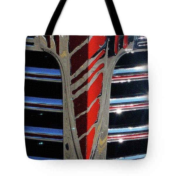 41 Chevrolet Emblem Tote Bag
