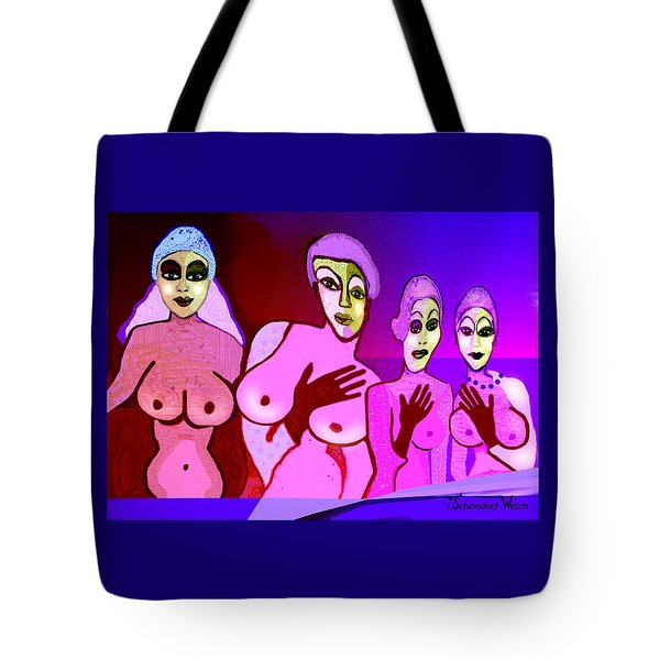 521 - Fine New Tits  Tote Bag
