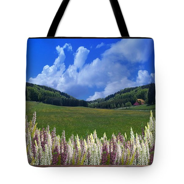Tote Bag featuring the photograph  A Beautiful View by Bernd Hau