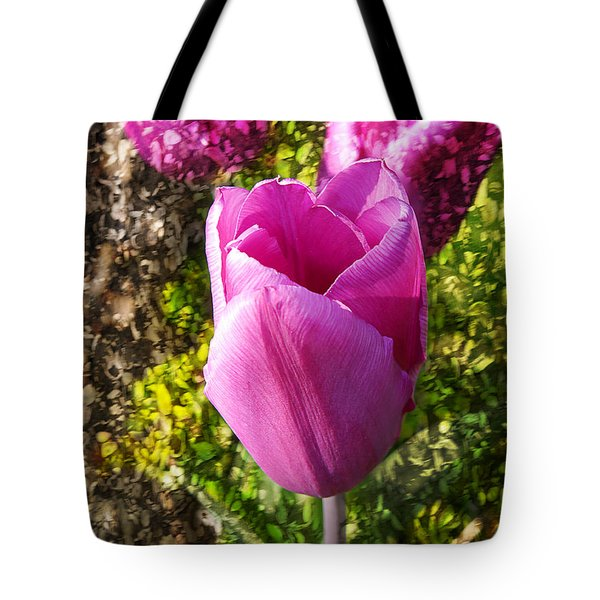 A Perfect Tulip Tote Bag
