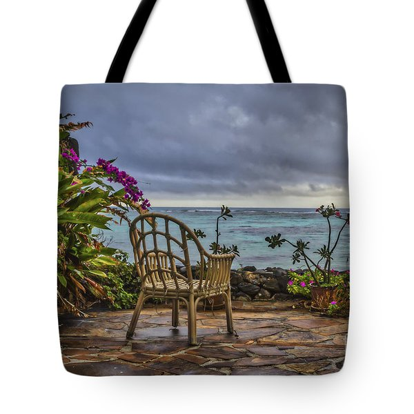 Tote Bag featuring the photograph  A Tropical Conclusion by Mitch Shindelbower