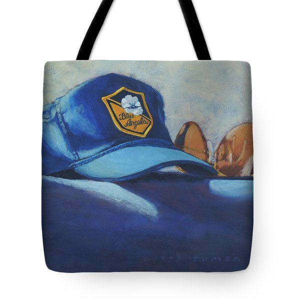 Angels Hat And Sunglasses Tote Bag