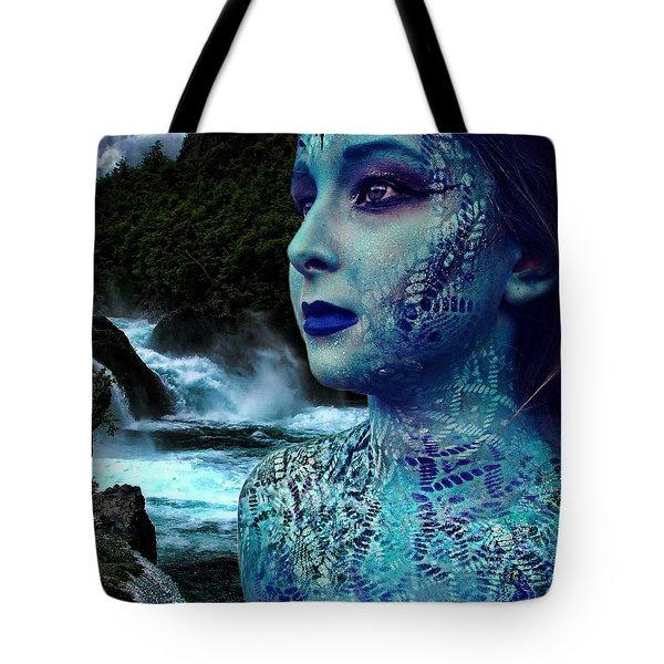 Atlantis Mermaid  Tote Bag