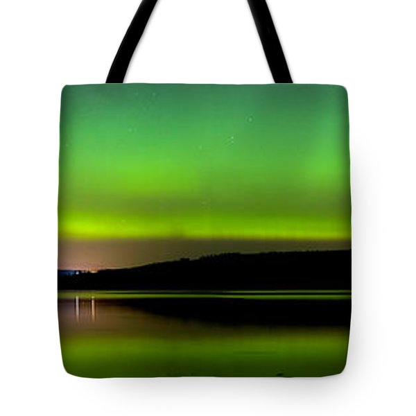Aurora Over The Beauly Firth Tote Bag