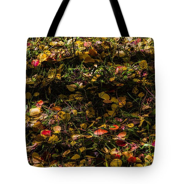 Autumn's Mosaic Tote Bag