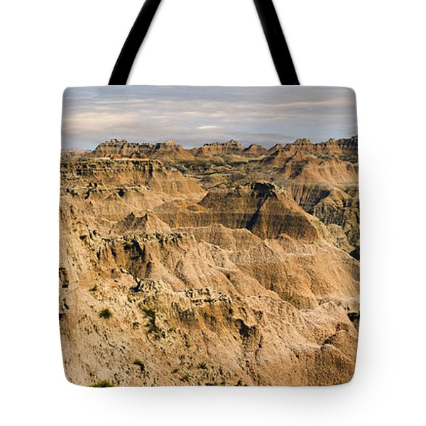 Tote Bag featuring the photograph  Badlands South Dakota by John Hix