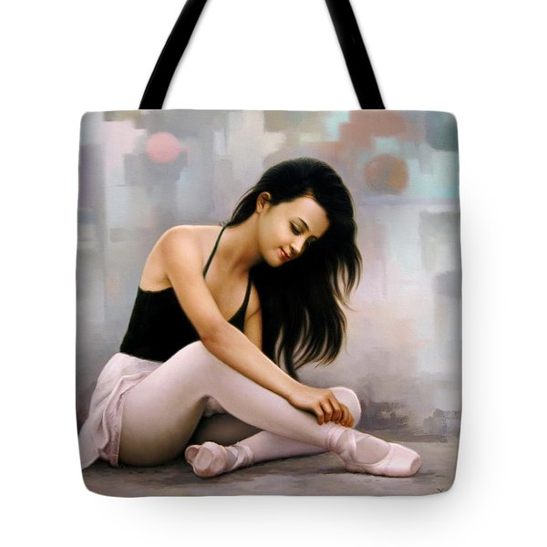 Ballerina Dreams Tote Bag