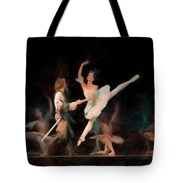 Ballerina  Tote Bag by Louis Ferreira