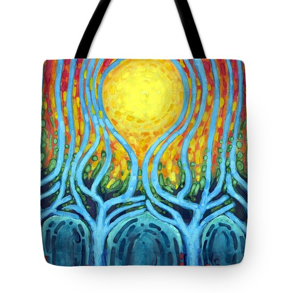 Births Of Day Tote Bag by Wojtek Kowalski