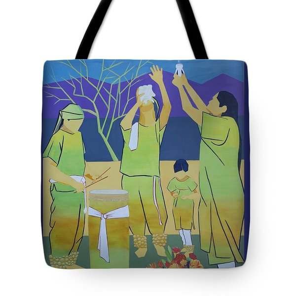 Blessing Sky And Earth Tote Bag