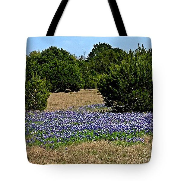 Bluebonnet Trail - No.2016 Tote Bag