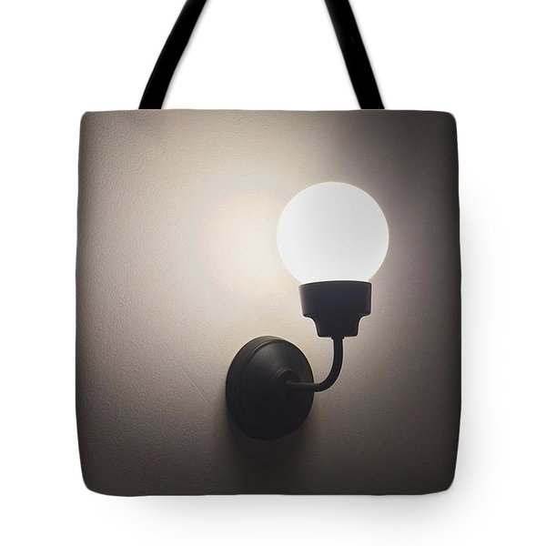 Lamp And Light Tote Bag