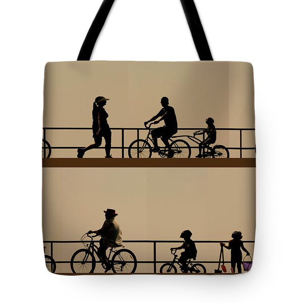 Boardwalk Movement Tote Bag