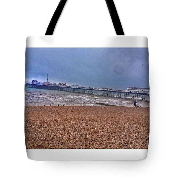 • Brighton Pier Tote Bag