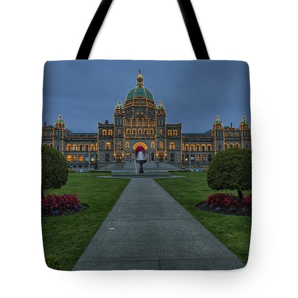 British Columbia Parliament Buildings Tote Bag