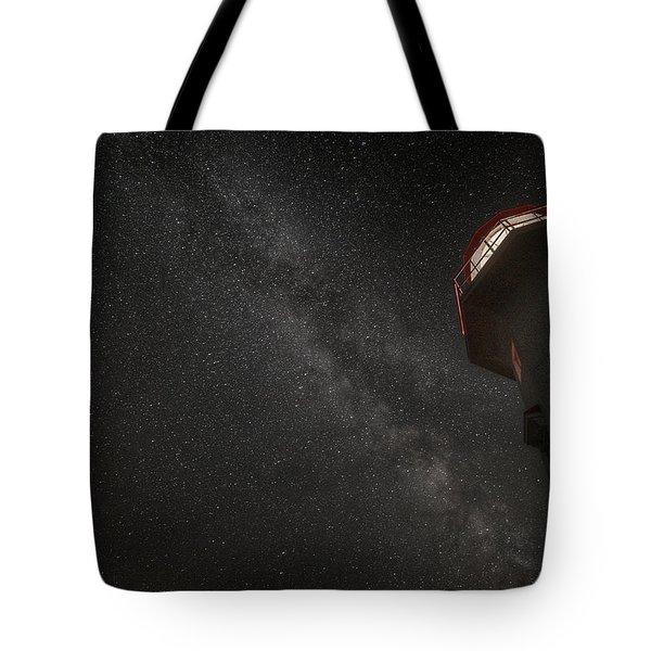 Cap Gaspe Milky Way Overhead Tote Bag