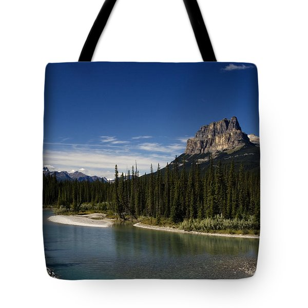 Castle Mountain 1 Tote Bag