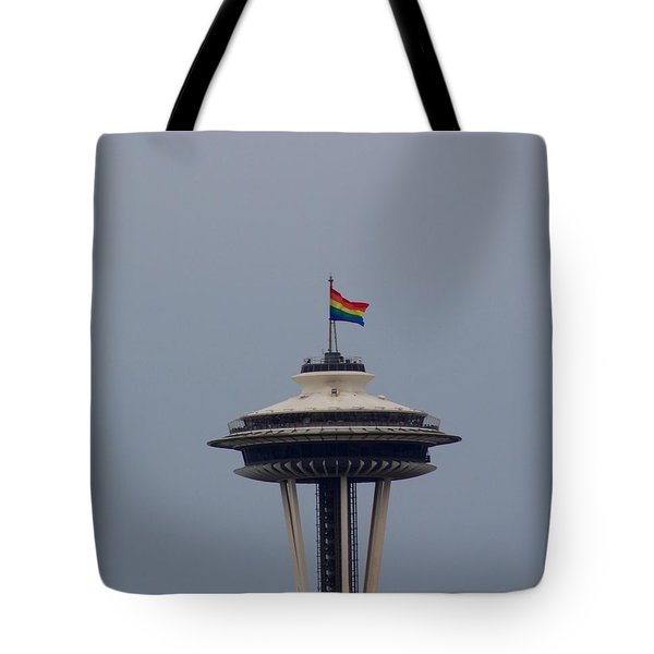 Celebrates Gay Pride  Tote Bag