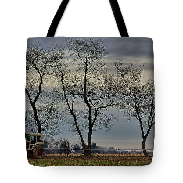 Central Jersey Farmstead Tote Bag by Steven Richman