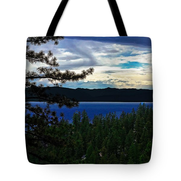 Tote Bag featuring the photograph  Chrystal Blue Waters by B Wayne Mullins