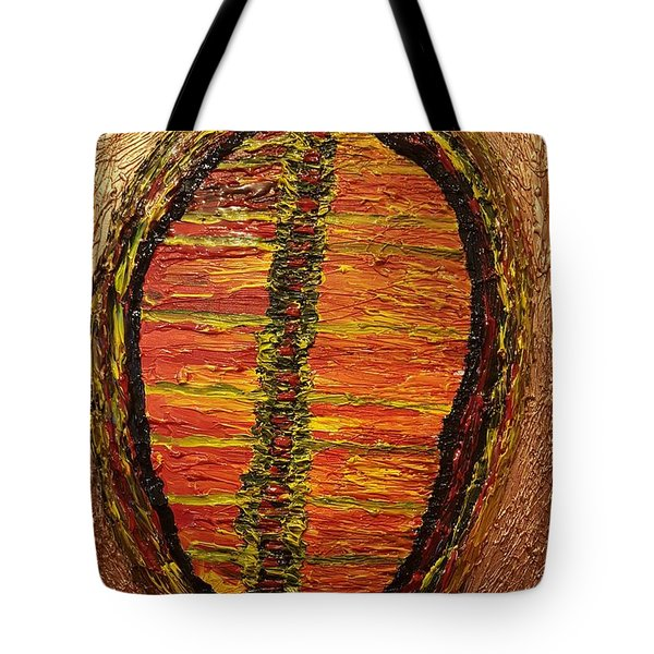 Convergence Of Nature Tote Bag by Darrell Black