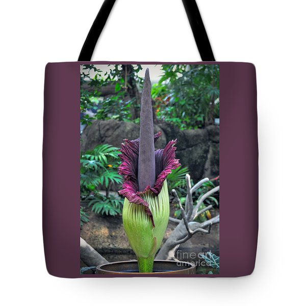 Corpse Flower Tote Bag