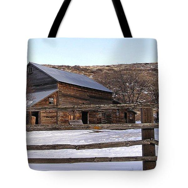 Country Barn Tote Bag