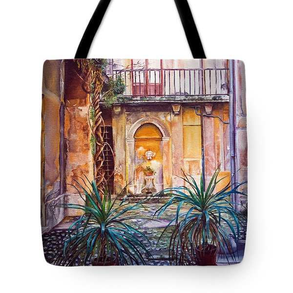 Courtyard Tote Bag