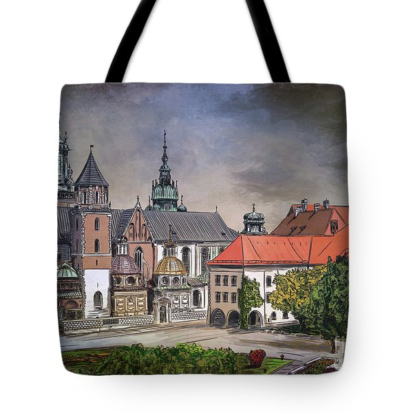 Cracow.world Youth Day In 2016. Tote Bag by Andrzej Szczerski