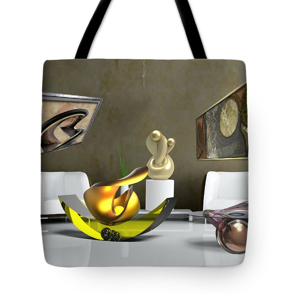 ' Cubrssrs - Tubehumanseedlings - Ball Box Intrigue - Kyscopic Table - Pearl ' Tote Bag