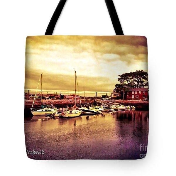 Down At The Dock Tote Bag