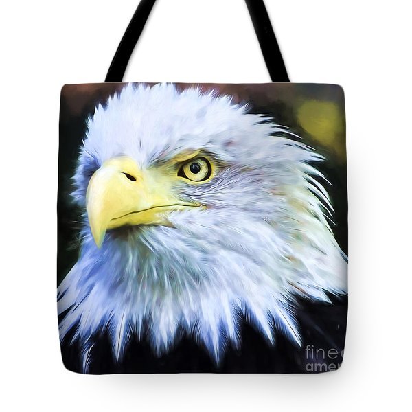 Eagle Eye Tote Bag by Suzanne Handel