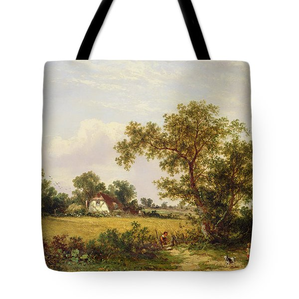 Essex Landscape  Tote Bag by James Edwin Meadows