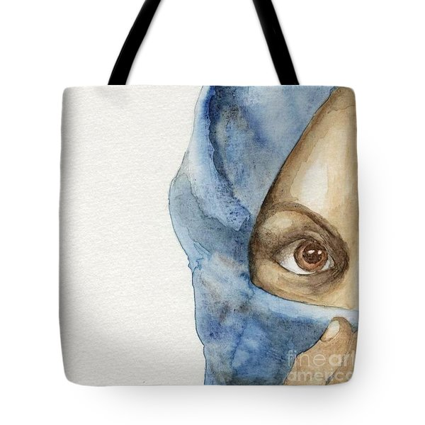 Tote Bag featuring the painting  Esther by Annemeet Hasidi- van der Leij