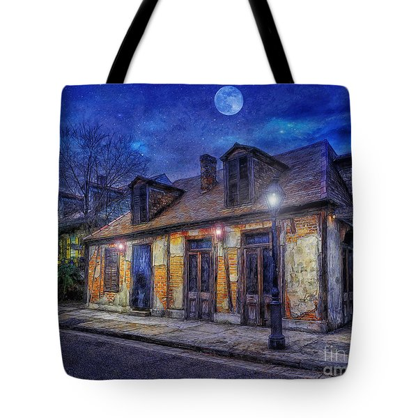 Evening At The Blackmiths Tote Bag by Ian Mitchell